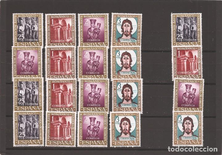 SELLOS DE ESPAÑA AÑO 1961ARTE ROMÁNICO SERIES COMPLETAS NUEVAS** (Sellos - España - II Centenario De 1.950 a 1.975 - Nuevos)