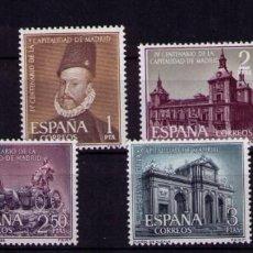Sellos: SELLOS DE ESPAÑA AÑO 1961 CAPITALIDAD DE MADRID SELLOS NUEVOS**. Lote 273503438