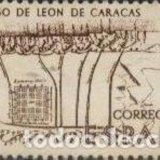 Sellos: FRANCOBOLLO - SPAGNA - MAP OF CARACAS - 6 PTAS - 1968 - USATO. Lote 235969810
