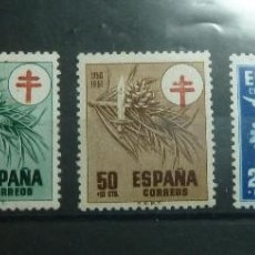 Sellos: AÑO 1950 EDIFIL 1084/87. NUEVOS. Lote 236653175