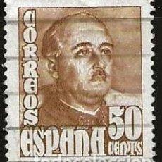 Sellos: ESPAÑA 1948 (1022) GENERAL FRANCO (USADO). Lote 236768310