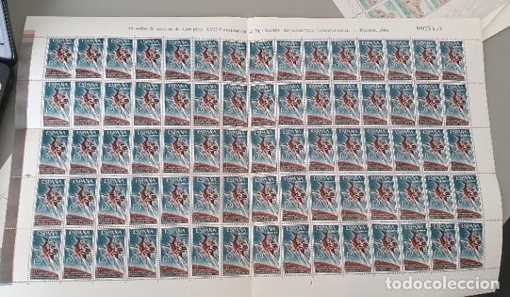 PLIEGO 75 SELLOS DE 1,50 PTAS XVII CONGRESO FEDERACIÓN ASTRONAUTICA INTERNACIONAL 1966 (Sellos - España - II Centenario De 1.950 a 1.975 - Nuevos)