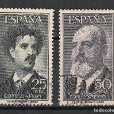 Sellos: ESPAÑA.EDIFIL Nº1164 Y 1165.FORTUNY Y TORRES QUEVEDO.USADOS.II CENTENARIO. Lote 238601140