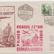 Sellos: CORREO AEREO ESPAÑA GUINEA - 1948. Lote 238873850