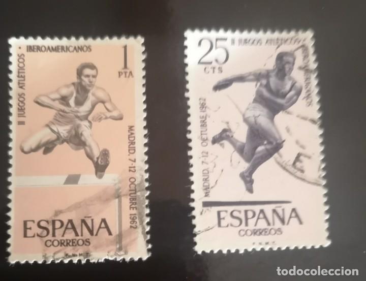 ESPAÑA. AÑO 1962. JUEGOS IBEROAMERICANOS. USADO. (Sellos - España - II Centenario De 1.950 a 1.975 - Usados)