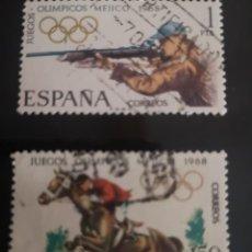 Sellos: 1968 - XIX JUEGOS OLIMPICOS MEJICO. Lote 239686155