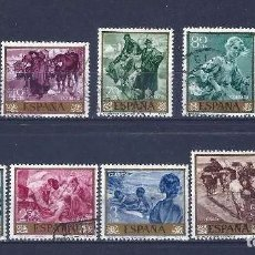 Sellos: EDIFIL 1566 - 1575 JOAQUIN SOROLLA, SERIE PINTURA, USADOS, SIMILARES A LOS DE LA FOTO. Lote 240101135