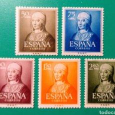 Sellos: ESPAÑA. 1951. EDIFIL 1092/1096**. NUEVOS.. Lote 241125385