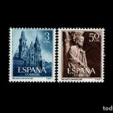 Sellos: ESPAÑA - 1954 - EDIFIL 1130/1131 - SERIE COMPLETA - MH* - NUEVOS.. Lote 242875100