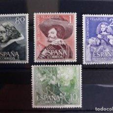 Francobolli: SERIE COMPLETA EDIFIL 1340 ** A 1343 **. ESPAÑA 1961. NUEVO SIN FIJASELLOS. LUJO. Lote 243011475