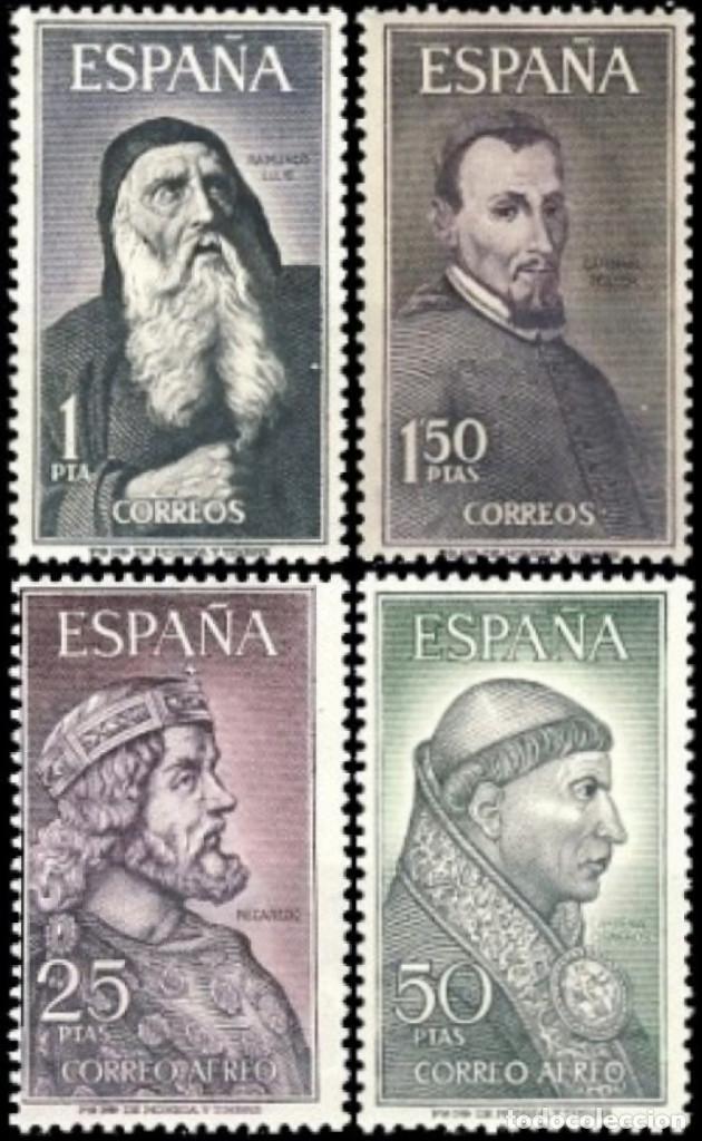 ESPAÑA. AÑO 1963, EDIFIL 1536/39** ''PERSONAJES''./ NUEVOS, SIN FIJASELLOS. MNH. (Sellos - España - II Centenario De 1.950 a 1.975 - Nuevos)