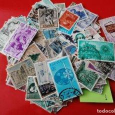 Sellos: LOTE 1,SELLOS DE ESPAÑA, 150 UNIDADES, DIFERENTES, MATASELLADOS, AÑOS 1960-1969.. Lote 243907420