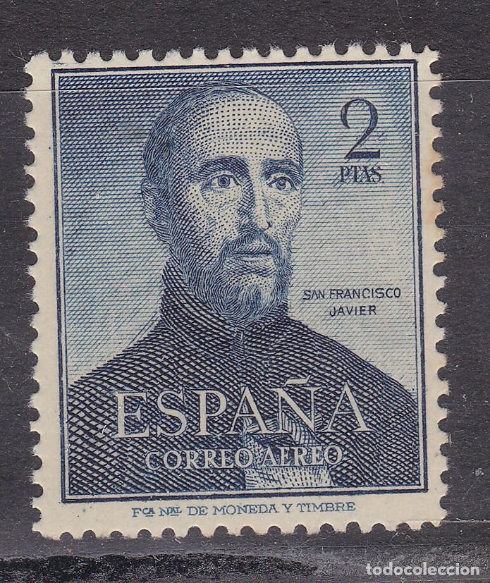 SS9-SAN FRANCISCO JAVIER EDIFIL 1118 NUEVO ** SIN FIJASELLOS (Sellos - España - II Centenario De 1.950 a 1.975 - Nuevos)
