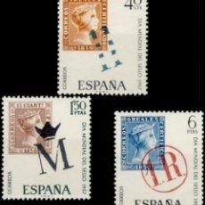 Sellos: ESPAÑA. AÑO 1967, EDIFIL 1798/00** ''DÍA MUNDIAL DEL SELLO''./ NUEVOS, SIN FIJASELLOS. MNH.. Lote 244913580