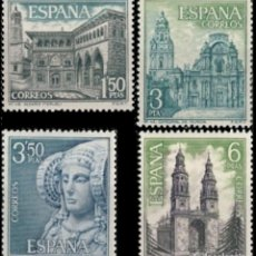Sellos: ESPAÑA. AÑO 1969, EDIFIL 1935/38** ''TURISMO''./ NUEVOS, SIN FIJASELLOS. MNH.. Lote 244984265