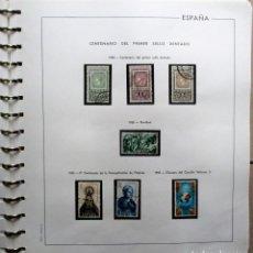 Sellos: ALBUM EDIFIL CON 663 SELLOS USADOS DE ESPAÑA COMPRENDIDOS ENTRE 1965-1975. LOTE 0095. Lote 245065695