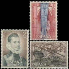 Sellos: ESPAÑA. AÑO 1971, EDIFIL 2055/57** ''BATALLA DE LEPANTO''./ NUEVOS, SIN FIJASELLOS. MNH.. Lote 245732780