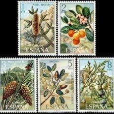 Sellos: ESPAÑA. AÑO 1972, EDIFIL 2085/89** ''FLORA''./ NUEVOS, SIN FIJASELLOS. MNH.. Lote 245743580