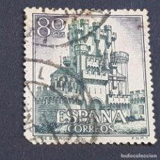 Sellos: ESPAÑA, 1966, CASTILLOS DE ESPAÑA, BUTRÓN, VIZCAYA, EDIFIL 1743, USADO, (LOTE AR). Lote 245935870