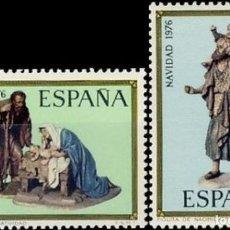 Sellos: ESPAÑA. AÑO 1976, EDIFIL 2368/69** ''NAVIDAD''./ NUEVOS, SIN FIJASELLOS. MNH.. Lote 246193380