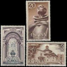 Sellos: ESPAÑA. AÑO 1976, EDIFIL 2375/77** ''MONASTERIO DE SAN PEDRO DE ALCÁNTARA''./ NUEVOS, MNH.. Lote 246193820