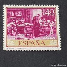 Timbres: ESPAÑA, AÑO 1968, MARIANO FORTUNY MARSAL, LA VICARÍA, EDIFIL 1854, NUEVO SIN GOMA, (LOTE AR). Lote 246246720
