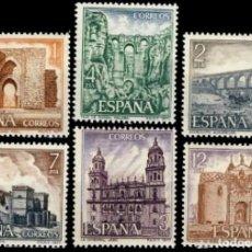Sellos: ESPAÑA. AÑO 1977, EDIFIL 2417/22** ''SERIE TURÍSTICA''./ NUEVOS, SIN FIJASELLOS. MNH.. Lote 246583450