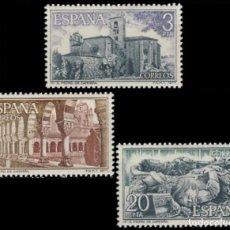 Sellos: ESPAÑA. AÑO 1977, EDIFIL 2443/45 ** ''MONASTERIO DE SAN PEDRO DE ALCANTARA''./ NUEVOS, MNH.. Lote 246600370