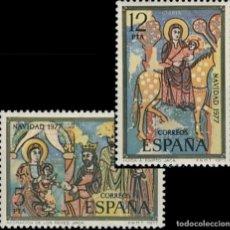 Sellos: ESPAÑA. AÑO 1977, EDIFIL 2446/47** ''NAVIDAD''./ NUEVOS, SIN FIJASELLOS. MNH.. Lote 246600970