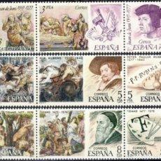 Sellos: ESPAÑA. AÑO 1978, EDIFIL 2460/68** ''TRÍPTICOS PERSONAJES (ARTE)''./ NUEVOS, SIN FIJASELLOS. MNH.. Lote 246602340