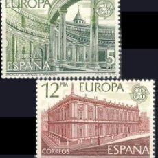 Sellos: ESPAÑA. AÑO 1978, EDIFIL 2474/75** ''EUROPA CEPT''./ NUEVOS, SIN FIJASELLOS. MNH.. Lote 246602990