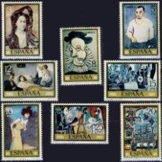 Sellos: ESPAÑA. AÑO 1978, EDIFIL 2481/88** ''PICASSO - PINTURAS''./ NUEVOS, SIN FIJASELLOS. MNH.. Lote 246603535