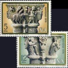 Sellos: ESPAÑA. AÑO 1978, EDIFIL 2491/92** ''NAVIDAD''./ NUEVOS, SIN FIJASELLOS. MNH.. Lote 246603690