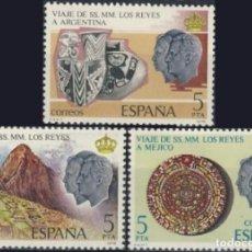 Sellos: ESPAÑA. AÑO 1978, EDIFIL 2493/95** ''VIAJES DE LOS REYES''./ NUEVOS, SIN FIJASELLOS. MNH.. Lote 246603735