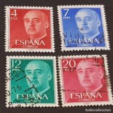 Timbres: ESPAÑA, 1974, GENERAL FRANCO, EDIFIL 2225-2228, COMPLETA, USADO, ( LOTE AW ). Lote 252329475