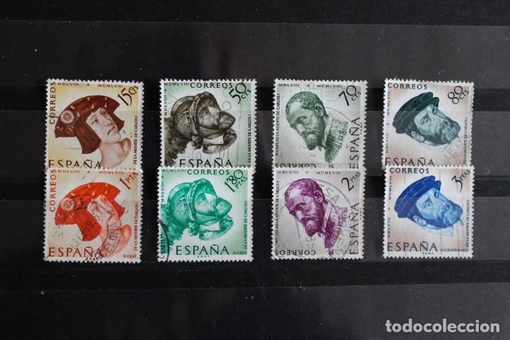 AÑO 1958 EDIFIL 1224/1231 USADOS (Sellos - España - II Centenario De 1.950 a 1.975 - Usados)