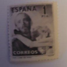 Sellos: SELLO DE ESPAÑA 1950. 4 CENTENARIO DE LA MUERTE DE SAN JUAN DE DIOS. 1 PTS. NUEVO.. Lote 252766685
