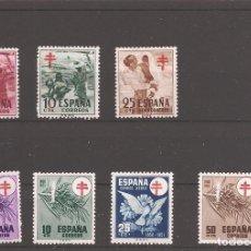 Sellos: SELLOS DE ESPAÑA AÑO 1950 Y 1951 PRO TUBERCULOSOS SELLOS NUEVOS**. Lote 293945288