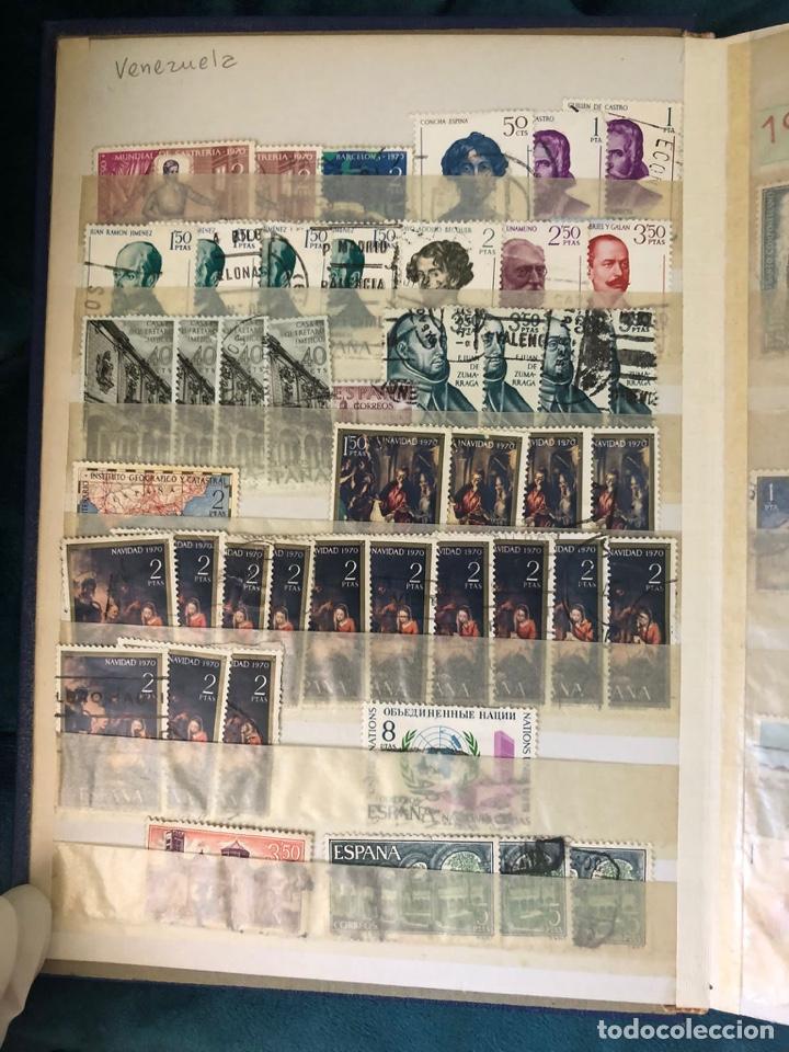 ÁLBUM SELLOS ESPAÑA DESDE 1970 A 1978. VER FOTOS (Sellos - España - II Centenario De 1.950 a 1.975 - Usados)