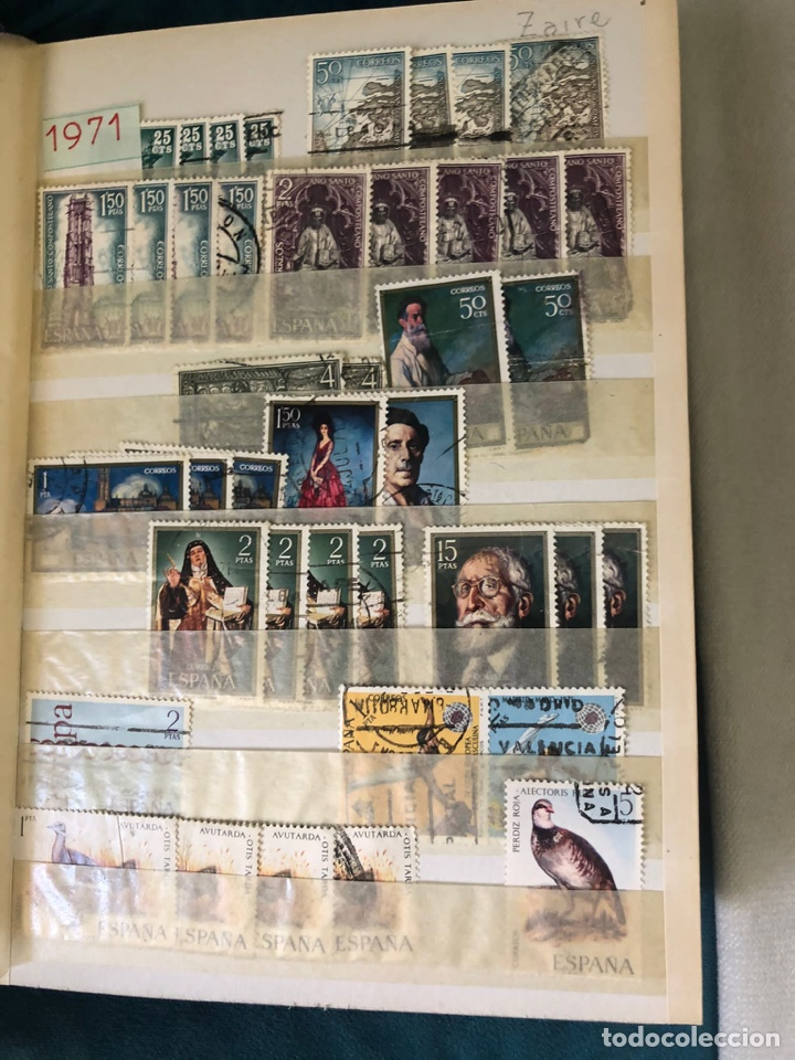 Sellos: Álbum sellos españa desde 1970 a 1978. Ver fotos - Foto 6 - 252956005