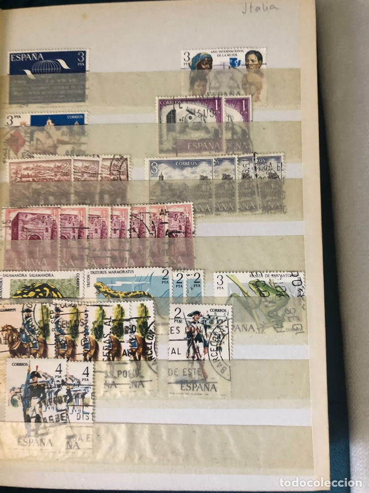 Sellos: Álbum sellos españa desde 1970 a 1978. Ver fotos - Foto 12 - 252956005