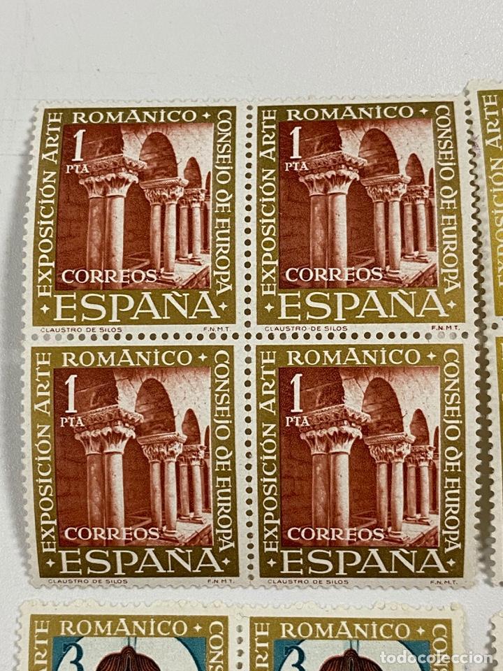 Sellos: ESPAÑA. EXPOSICION ARTE ROMANICO. SERIE COMPLETA. NUEVOS. BLOQUES DE 4. VER - Foto 2 - 253247865
