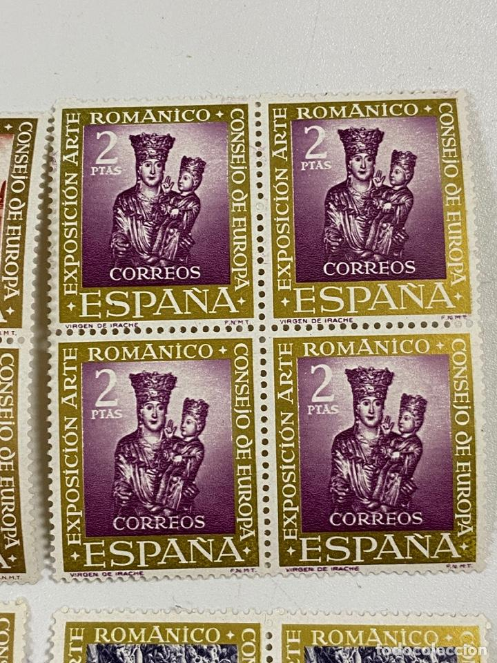 Sellos: ESPAÑA. EXPOSICION ARTE ROMANICO. SERIE COMPLETA. NUEVOS. BLOQUES DE 4. VER - Foto 3 - 253247865