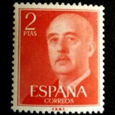 Francobolli: ESPAÑA N°1157 MH*GENERAL FRANCO 1955 (FOTOGRAFÍA REAL). Lote 253315930