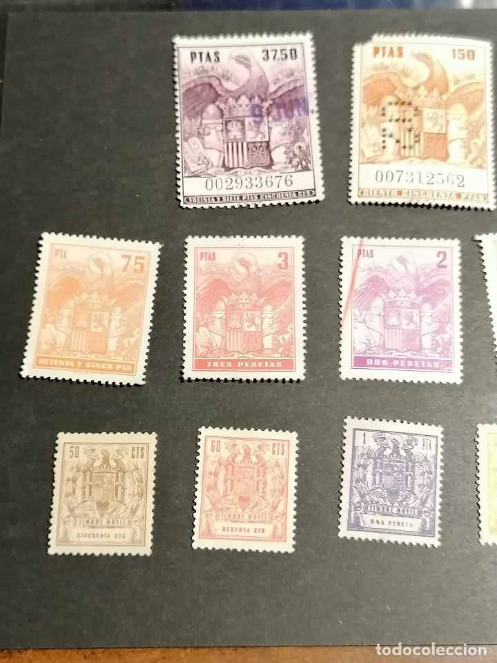 Sellos: España lote sellos Taxas polizas Timbres Epoca Franco usados - Foto 4 - 253506755