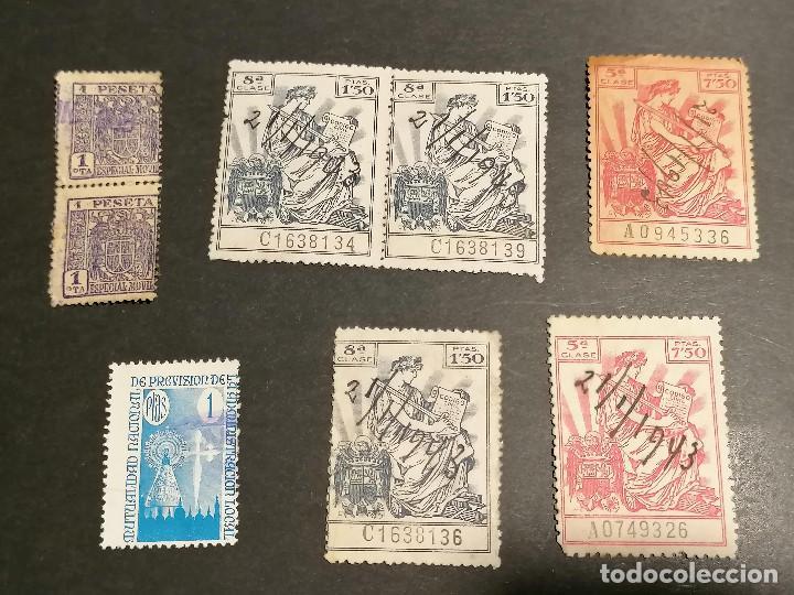 Sellos: España lote sellos Taxas polizas Timbres Epoca Franco usados - Foto 7 - 253506755