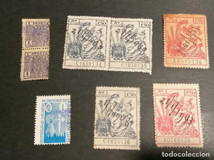 Sellos: España lote sellos Taxas polizas Timbres Epoca Franco usados - Foto 8 - 253506755