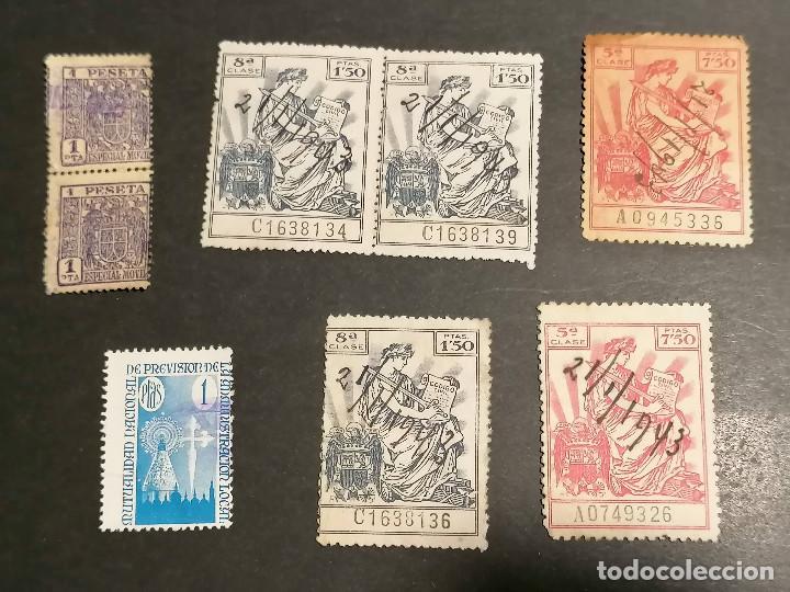 Sellos: España lote sellos Taxas polizas Timbres Epoca Franco usados - Foto 9 - 253506755