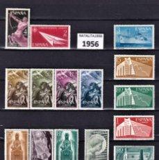 Selos: SELLOS ESPAÑA AÑO 1956/1957 COMPLETO Y NUEVO SIN FIJASELLOS MNH. Lote 253525835