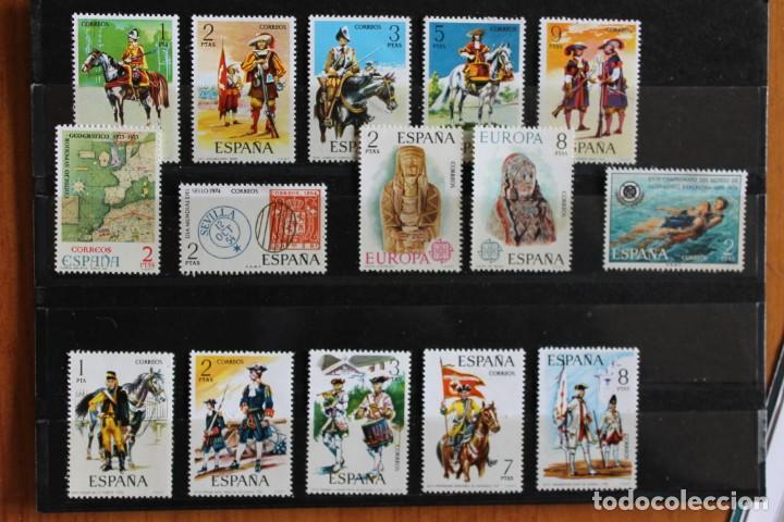 LOTE SERIES SELLOS AÑO 1974 NUEVOS (Sellos - España - II Centenario De 1.950 a 1.975 - Nuevos)